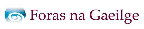Le cuidiú ó Fhoras na Gaeilge<br> Supported by Foras na Gaeilge